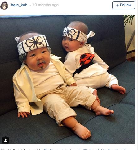 Hai nhóc sinh đôi kháu khỉnh nhà Koh không hề là rào cản trong sự nghiệp và sức sáng tạo của mẹ.