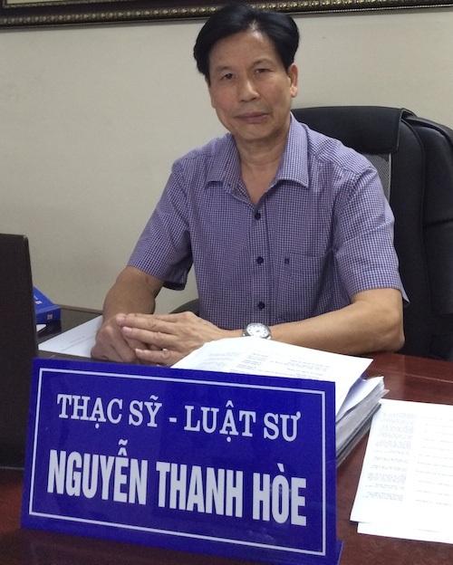 Luật sư Nguyễn Thanh Hoè cho rằng phải thực hiện bồi thường nhà nước trong vụ việc.