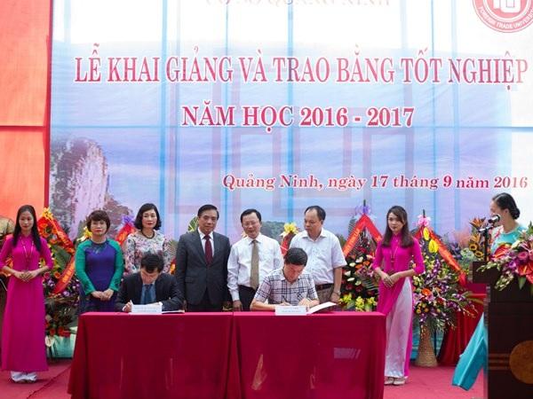Trường ĐH Ngoại thương – Cơ sở Quảng Ninh tưng bừng tổ chức Lễ khai giảng năm học mới - 3