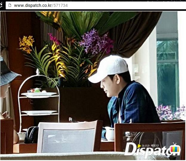 Se7en và Lee Da Hae đi nghỉ cùng nhau tại Thái Lan hồi tháng 8/2016.