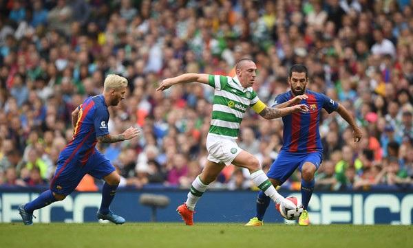 Celtic luôn thất bại trong những lần đối đầu với Barcelona