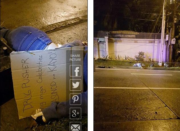 Thi thể của Aurora Moynihan được phát hiện bên đường ở Manila. (Ảnh: Dailymail)