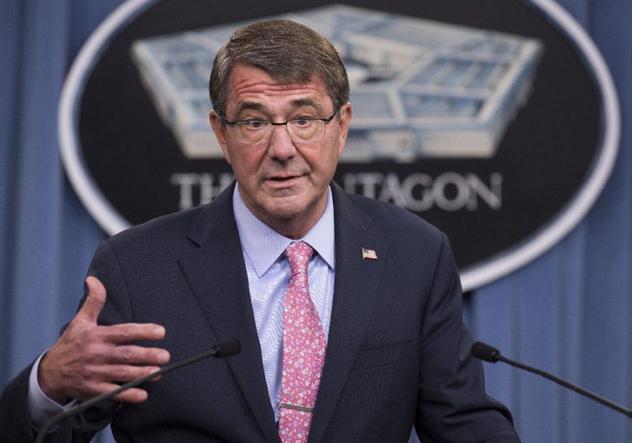 Bộ trưởng Quốc phòng Mỹ Ash Carter. (Ảnh: AFP)