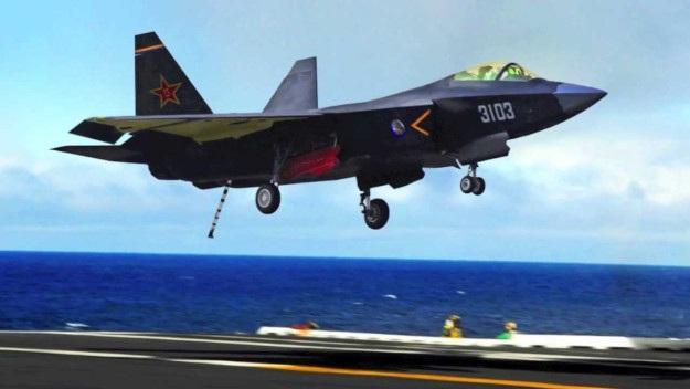 Một máy bay chiến đấu J-31 của Trung Quốc. (Ảnh: Asia Times)