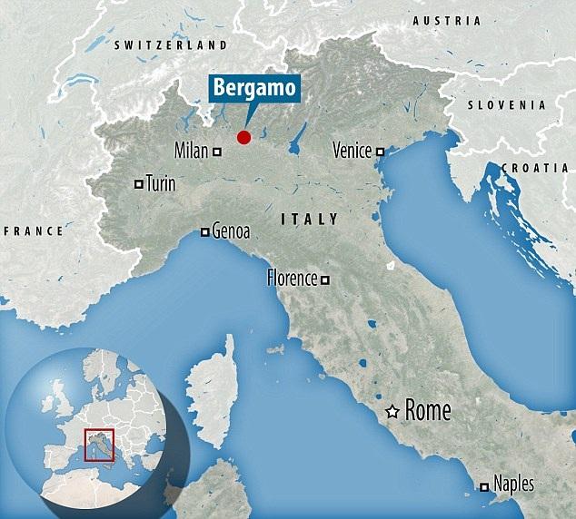 Orio al Serio là sân bay đông đúc thứ 3 ở Italia với hơn 10 triệu lượt khách năm ngoái. (Ảnh: Dailymail)