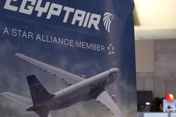 Những kẻ ủng hộ phong trào Anh Em Hồi giáo đã viết lời đe dọa bằng tiếng Ả rập lên thân máy bay của EgyptAir cách đây 2 năm. (Ảnh minh họa: UPI)