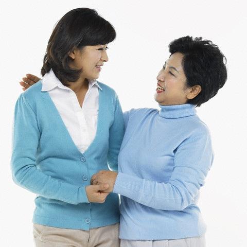 Sự hòa hảo giữa mẹ chồng nàng dâu bắt nguồn từ thái độ tôn trọng lẫn nhau.