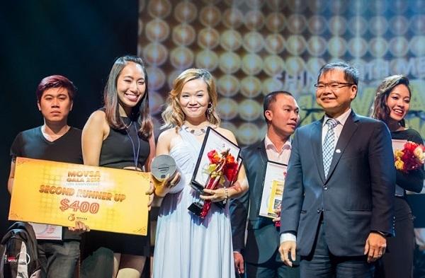 Lê Hà Phương (giữa) giành giải 3 chung cuộc.