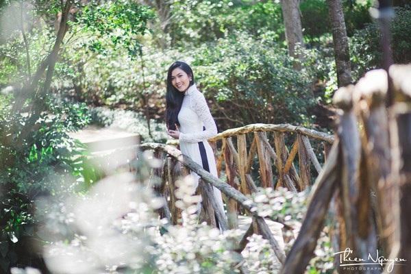 Hoa khôi DHS Việt: Diện áo dài đi học mỗi dịp Tết xa nhà - 10