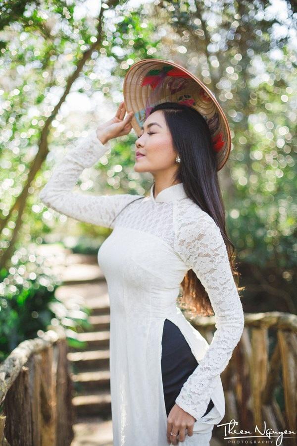 Hoa khôi DHS Việt: Diện áo dài đi học mỗi dịp Tết xa nhà - 9