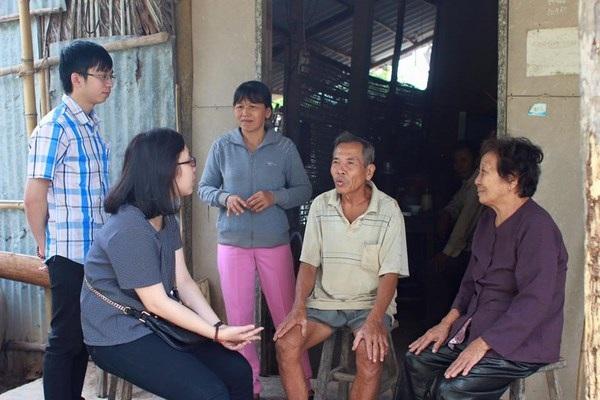 Năm nay đoàn đại diện Hội VSS về Việt Nam trao quà có tất cả 10 người.