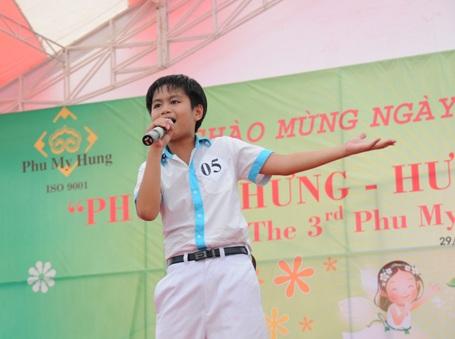 Thông qua cuộc thi Tài năng trẻ Phú Mỹ Hưng, BTC mong muốn tạo điều kiện cho các em thiếu nhi trên địa bàn TPHCM có cơ hội thể hiện tài năng của mình.