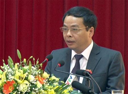 Ông Ngô Ngọc Tuấn, Chủ tịch HĐND tỉnh Yên Bái