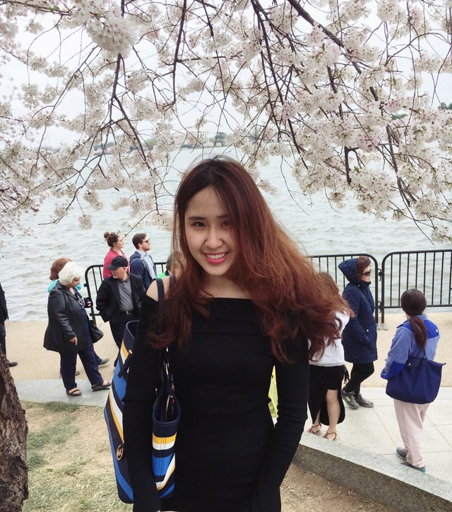 Sở hữu chiều cao 1,73m cùng gương mặt thanh tú, nữ du học sinh Ngọc Mai luôn thu hút sự chú ý của những người xung quanh.