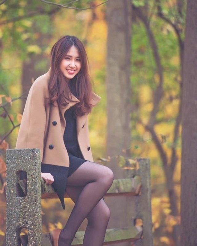Cô từng nhận học bổng hơn 180.000 USD của trường ĐH Bryn Mawr (Mỹ) vào năm 2015.