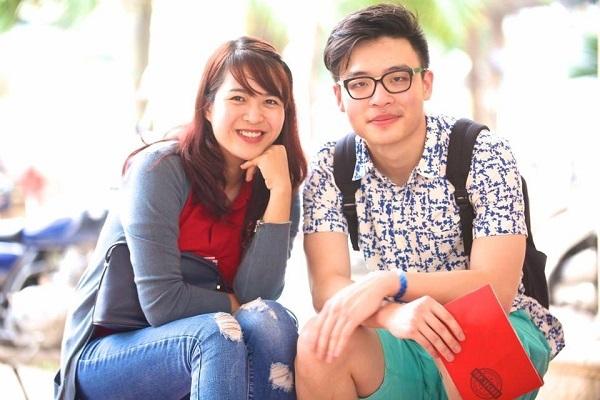 Ngọc Minh (phải) chinh phục ĐH Stanford (ngôi trường đứng đầu danh sách Top 10 trường đại học Mỹ đáng mơ ước nhất năm 2015 theo khảo sát và xếp hạng của Princeton Review).