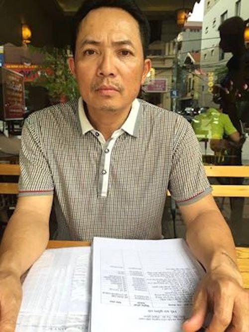 Anh Phạm Văn Tình kêu oan sau khi bị quy kết phạm tội Lạm quyền trong khi thi hành công vụ.