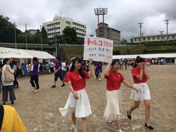 """Sinh viên Nhật quảng bá áo dài, phở xào Việt Nam tại """"Lễ hội mùa hè"""" - 4"""