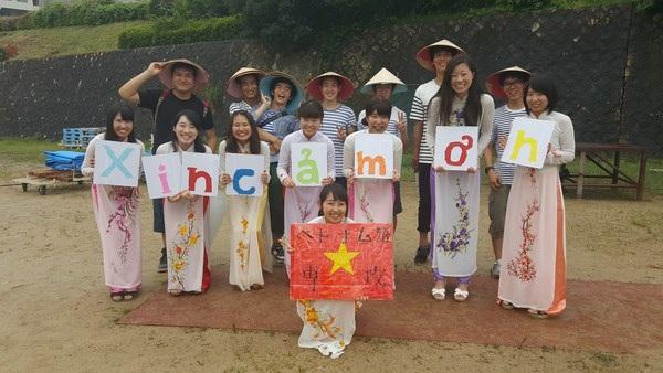 """Sinh viên Nhật quảng bá áo dài, phở xào Việt Nam tại """"Lễ hội mùa hè"""" - 6"""