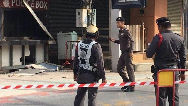 Hiện trường vụ nổ ở Phuket. (Ảnh: File photo)