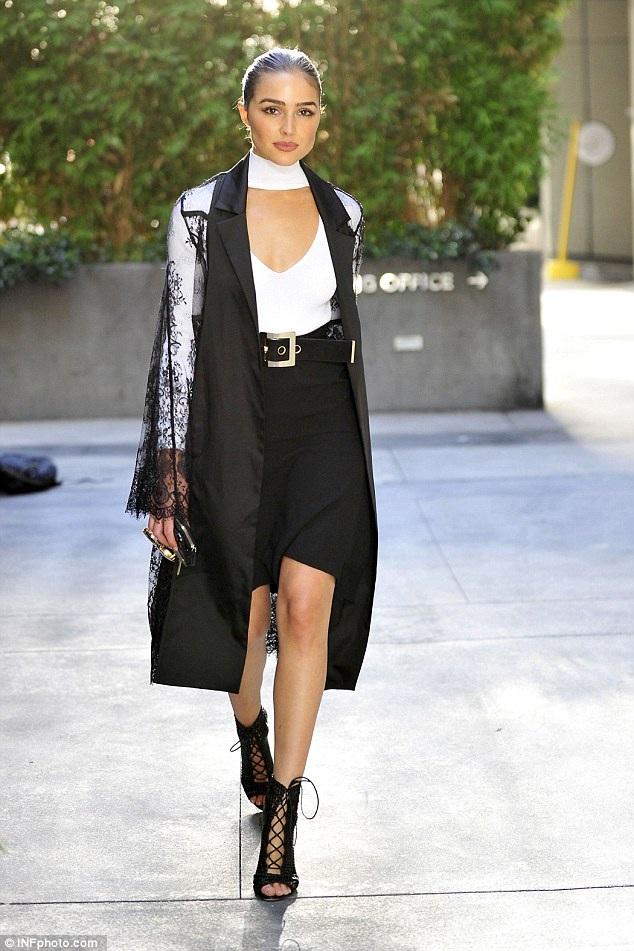 Olivia Culpo - hoa hậu hoàn vũ 2012 đang trở thành một trong những biểu tượng thời trang mới ở Hollywood