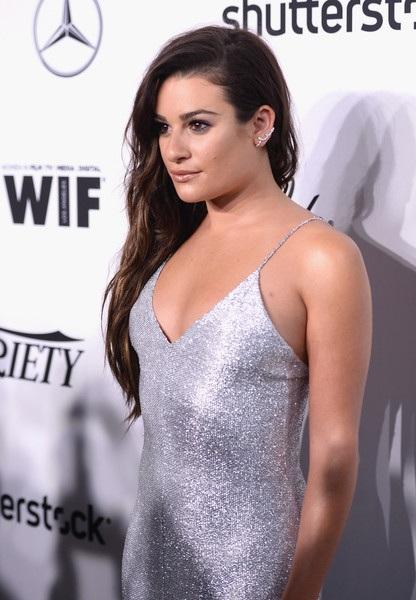 Cùng dự sự kiện còn có ngôi sao phim Glee - Lea Michele