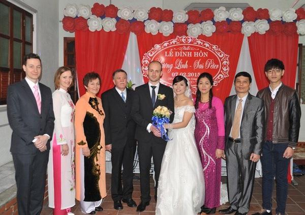 Đám cưới ở Việt Nam, tháng 2 năm 2015.