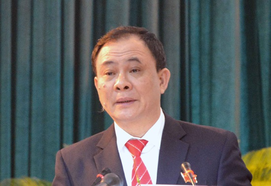 Ông Phạm Duy Cường, Bí thư Tỉnh ủy Yên Bái. (Ảnh: Baotintuc.vn)