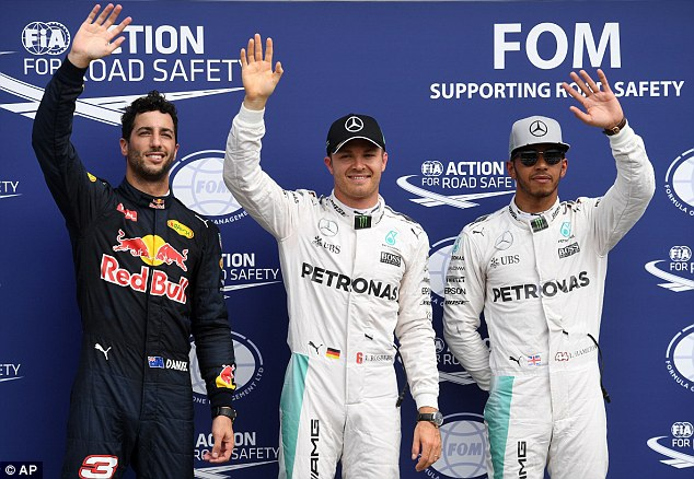 Nico Rosberg thi đấu chói sáng tại sân nhà - 7