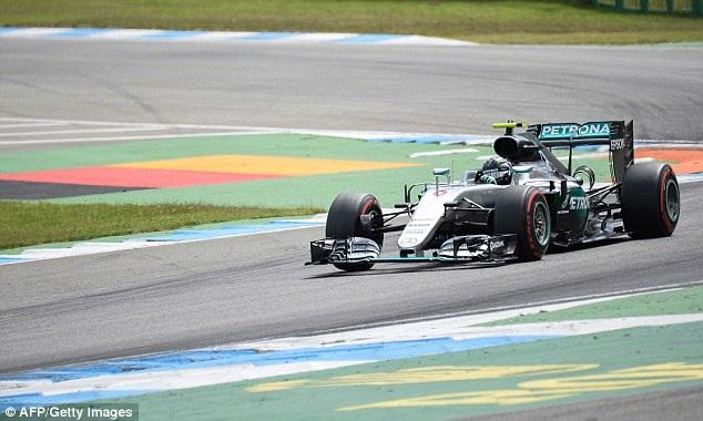 Nico Rosberg thi đấu chói sáng tại sân nhà - 4