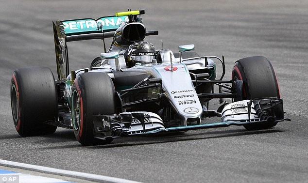 Nico Rosberg thi đấu chói sáng tại sân nhà - 5
