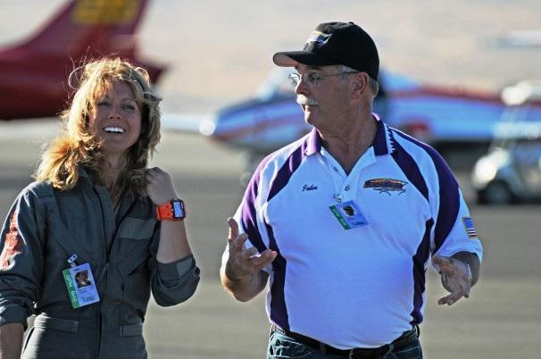 Nữ phi công Heather Lucky Penny. (Ảnh: Washington Post)