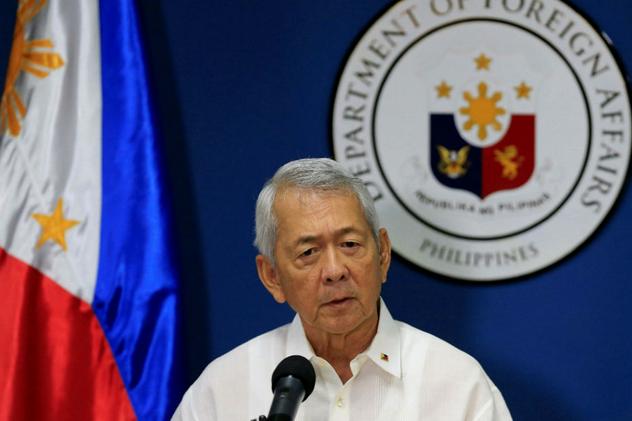 Ngoại trưởng Philippines Perfecto Yasay. (Ảnh: AFP)
