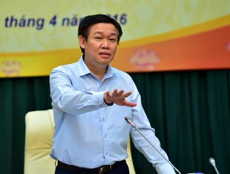 Phó Thủ tướng Vương Đình Huệ nhấn mạnh mục tiêu kiểm soát lạm phát năm 2016 trong giới hạn 4-5%.