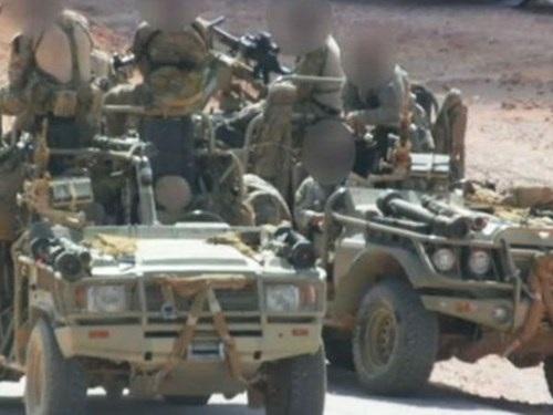 Binh sĩ tinh nhuệ thuộc SAS xuất hiện trên mặt trận Syria