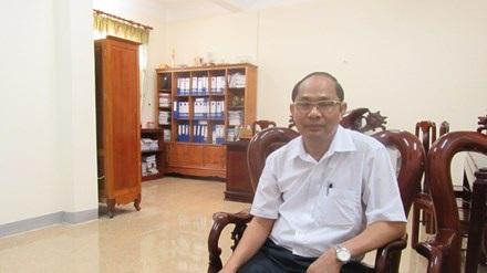 Ông Võ Tá Đinh, Giám đốc Sở Tài nguyên Môi trường Hà Tĩnh.