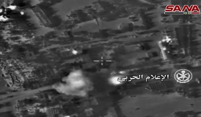 Chiến đấu cơ Nga – Syria không kích Aleppo