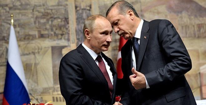 Tổng thống Nga Putin (trái) và Tổng thống Thổ Nhĩ Kỳ Erdogan đã gặp nhau lần đầu kể từ sau vụ bắn rơi Su-24 Nga. Ạh: Sputnik