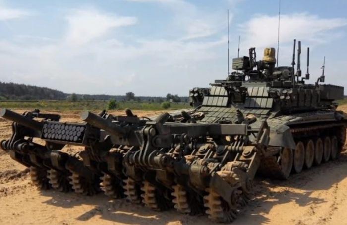 Robot phá mìn Prohod-T của Nga