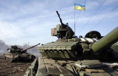 Ukraine vẫn tiếp tục kéo đến các thiết bị quân sự và binh lính của lực lượng vũ trang của Ukraine
