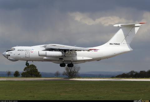 Chiếc Il-76 (số hiệu RA-76842).
