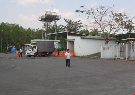 Khu vực xử lý chất thải nằm bên trong bãi rác Đông Thạnh, huyện Hóc Môn (TP.HCM). Ảnh: TRẦN NGỌC