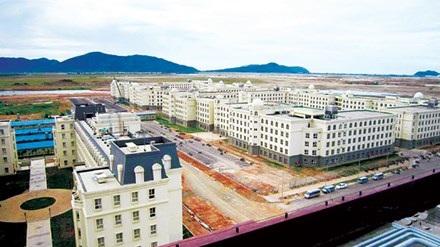 Một khu tái định cư dự án Formosa.
