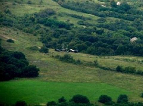 Ukraine phát hiện thiết bị do thám Nga sát biên giới. Ảnh: Đài TV24 Ukraine