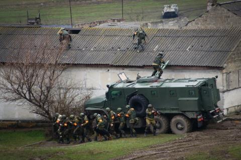Binh lính Nga ở Crimea