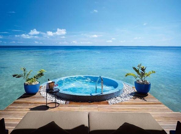 Những thiên đường nghỉ dưỡng xa xỉ nhất thế giới - 1