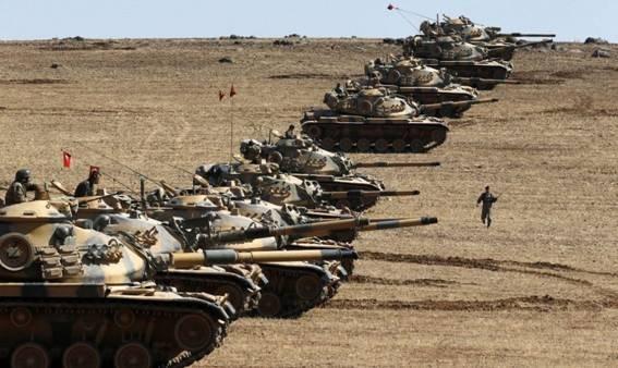 Đội xe tăng hùng hổ của Thổ Nhĩ Kỳ đã bị người Kurd Syria phá hủy 3 chiếc hôm qua.