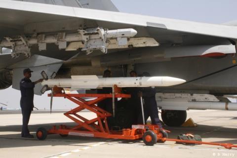 Tên lửa R-77 của Nga sử dụng ở Syria