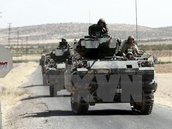 """Thổ Nhĩ Kỳ tạo """"nguy cơ tiềm ẩn"""" khi đưa quân vào Syria - 1"""