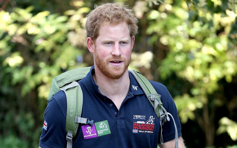 Vẻ đẹp quyến rũ của hoàng tử Harry nước Anh